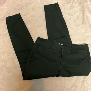 LOFT Plus Army green Chinos in size 14